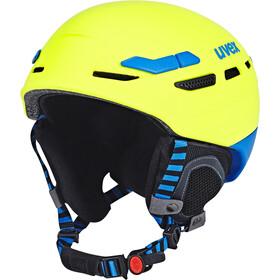 UVEX P.8000 Tour Hjelm, gul/blå